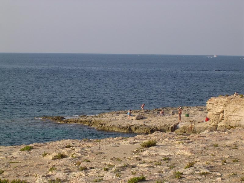 Bugibba_rocky_beach